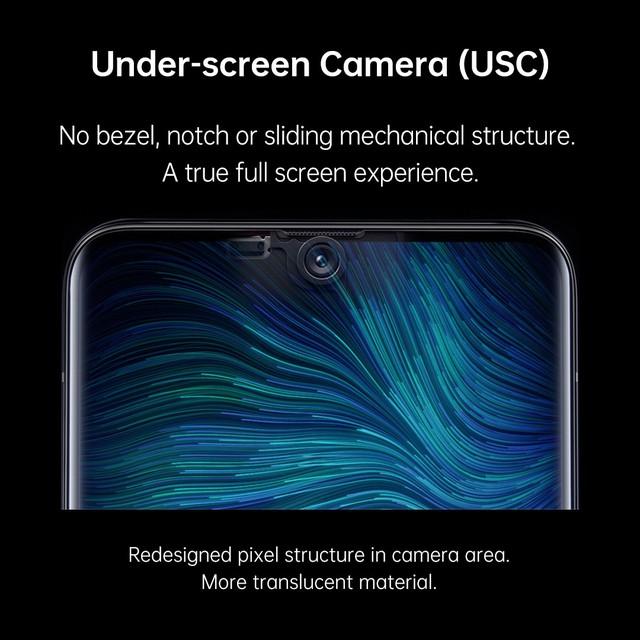 Oppo ra mắt camera ẩn dưới màn hình trên smartphone - Ảnh 1.