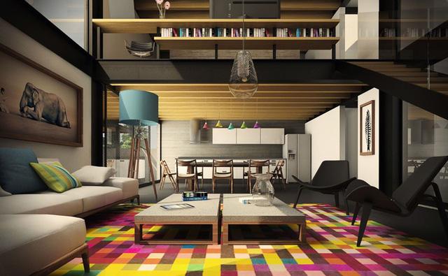Những phòng khách sang trọng với cách thiết kế, trang trí độc đáo - Ảnh 2.