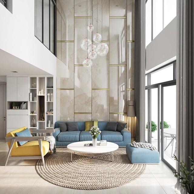 Những phòng khách sang trọng với cách thiết kế, trang trí độc đáo - Ảnh 4.