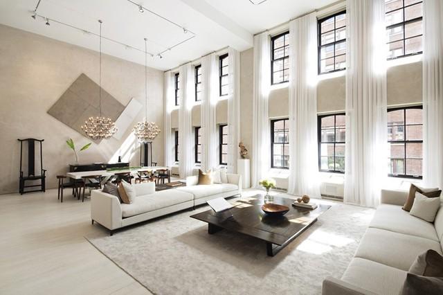 Những phòng khách sang trọng với cách thiết kế, trang trí độc đáo - Ảnh 8.