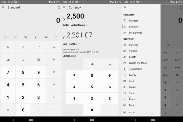 Công cụ tính toán trên Windows 10 đã có trên Android và iOS - Ảnh 1.