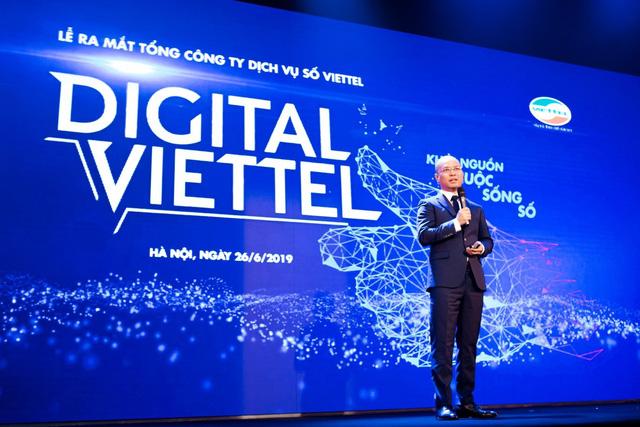 Ra mắt Tổng Công ty Dịch vụ số Viettel: Khi giao dịch online với điện thoại không Internet - Ảnh 2.