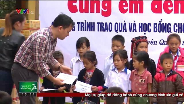 Quỹ Tấm lòng Việt trao tặng hàng nghìn suất quà cùng học bổng tới học trò nghèo trong 5 tháng đầu năm 2019 - Ảnh 1.