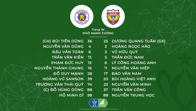 Thắng thuyết phục 3-1 Hồng Lĩnh Hà Tĩnh, CLB Hà Nội giành quyền vào tứ kết Cúp Quốc gia Bamboo Airways 2019 - Ảnh 1.