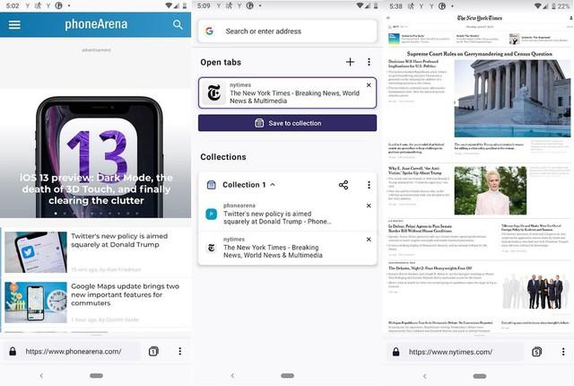 Trình duyệt Firefox trình làng phiên bản mới trên Android - Ảnh 1.