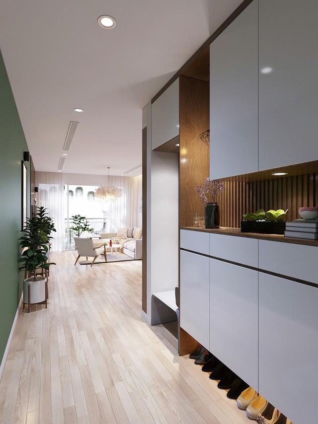 Căn hộ 3 phòng ngủ, sở hữu những mảng xanh tinh tế - Ảnh 3.