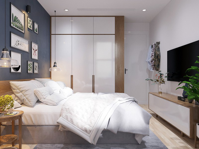 Căn hộ 3 phòng ngủ, sở hữu những mảng xanh tinh tế - Ảnh 7.