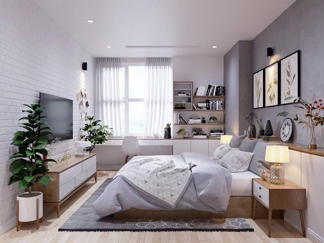 Căn hộ 3 phòng ngủ, sở hữu những mảng xanh tinh tế - Ảnh 10.