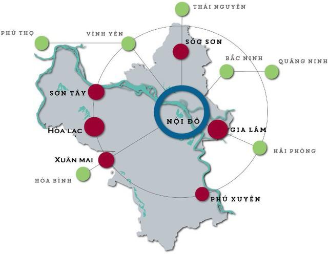 Phó Thủ tướng Trịnh Đình Dũng: Phải xây dựng đô thị đối trọng để giảm áp lực dân số cho Hà Nội, TP.HCM - Ảnh 1.