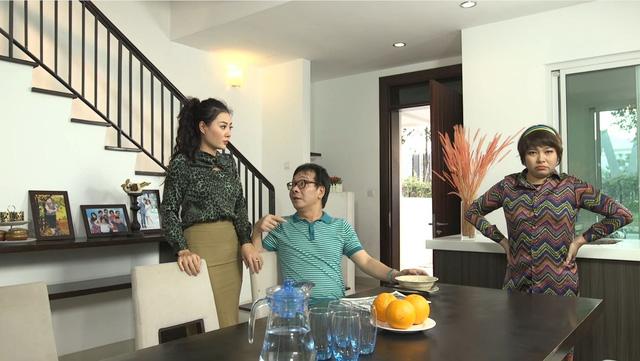 Gia đình 4.0: Chị Chiều (Thanh Hương) mất việc, chồng sẵn sàng trở thành trụ cột gia đình - Ảnh 1.