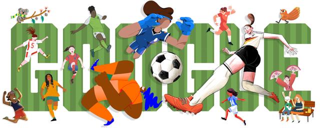 Google cập nhật ảnh đại diện nhân dịp giải vô địch bóng đá nữ thế giới 2019 - Ảnh 1.