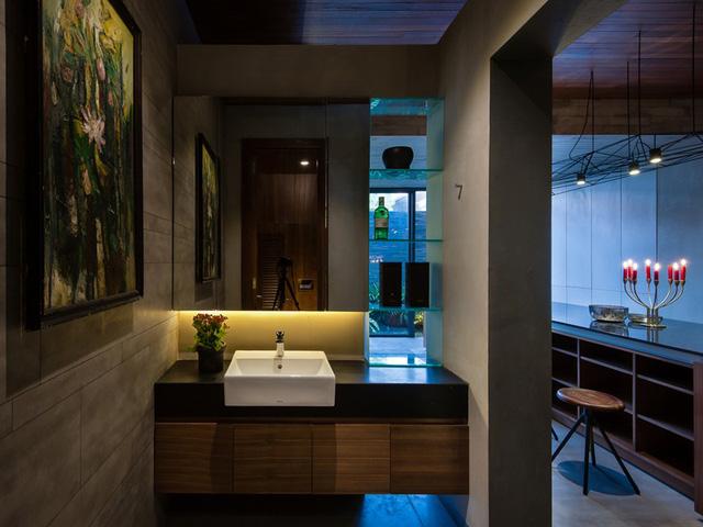 Ngôi nhà lấy cảm hứng từ nhà truyền thống Việt Nam - Ảnh 7.