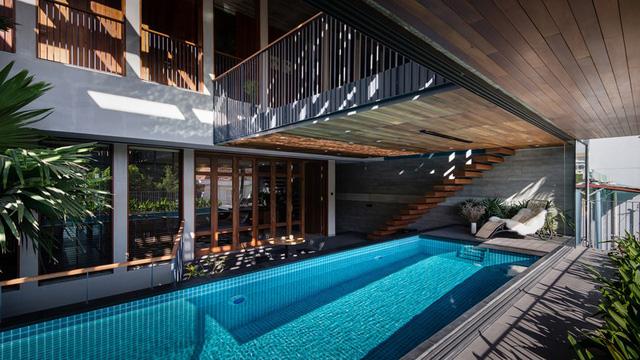 Ngôi nhà lấy cảm hứng từ nhà truyền thống Việt Nam - Ảnh 2.