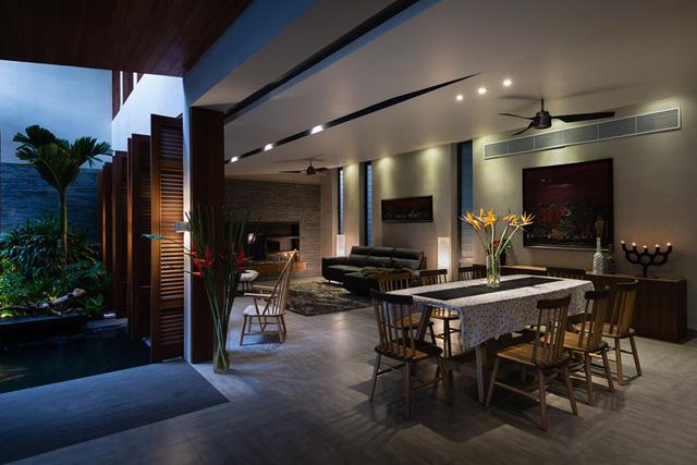 Ngôi nhà lấy cảm hứng từ nhà truyền thống Việt Nam - Ảnh 6.