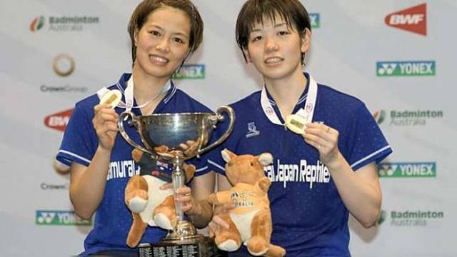 Chung kết giải cầu lông Australia mở rộng: Các tay vợt Trung Quốc chiếm ưu thế - Ảnh 1.