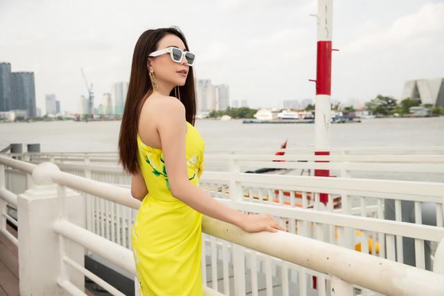 Trương Thị May, Trà Ngọc Hằng rực rỡ tại sự kiện thời trang - Ảnh 5.