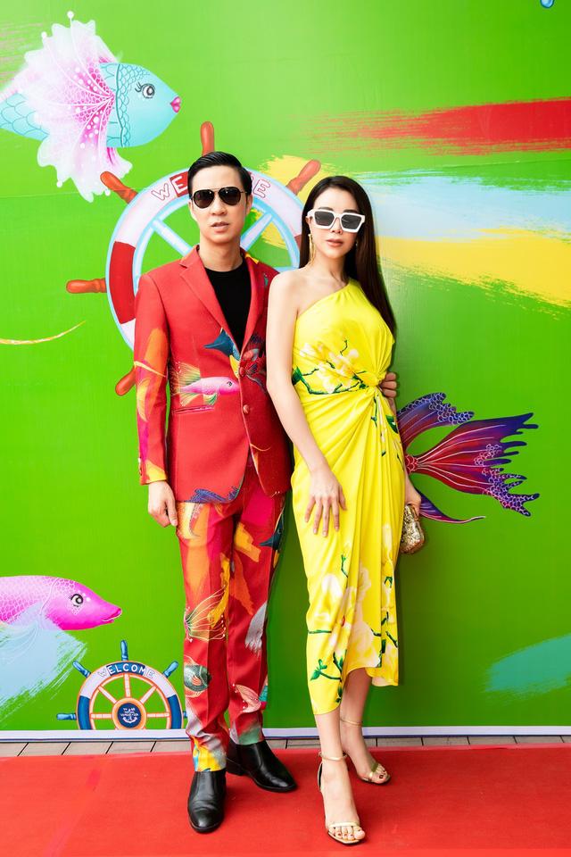 Trương Thị May, Trà Ngọc Hằng rực rỡ tại sự kiện thời trang - Ảnh 7.