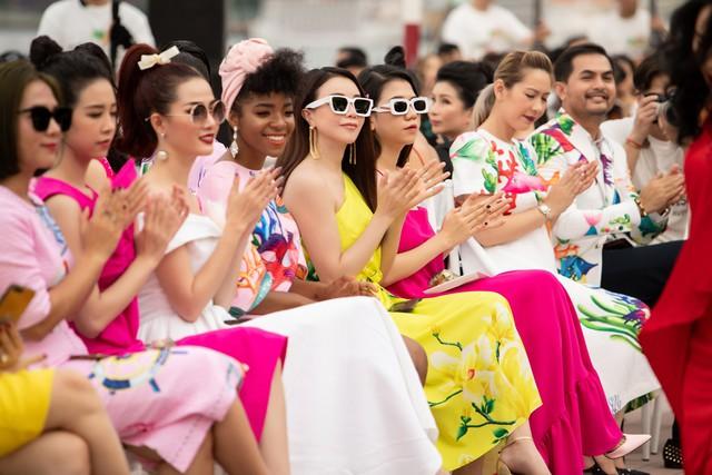 Trương Thị May, Trà Ngọc Hằng rực rỡ tại sự kiện thời trang - Ảnh 2.