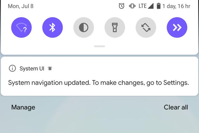 Android Q sẽ chỉ cho phép sử dụng điều hướng bằng cử chỉ mặc định của Google - Ảnh 1.