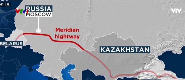 Nga phê duyệt dự án siêu cao tốc Âu - Á dài hơn 2.000 km - Ảnh 1.