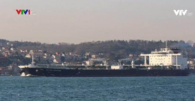 Lực lượng Vệ binh Cách mạng Iran bác cáo buộc chặn tàu chở dầu của Anh - Ảnh 1.