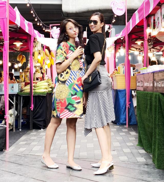 Lã Thanh Huyền vi vu Bangkok cùng cạ cứng MC Thanh Vân Hugo - Ảnh 3.