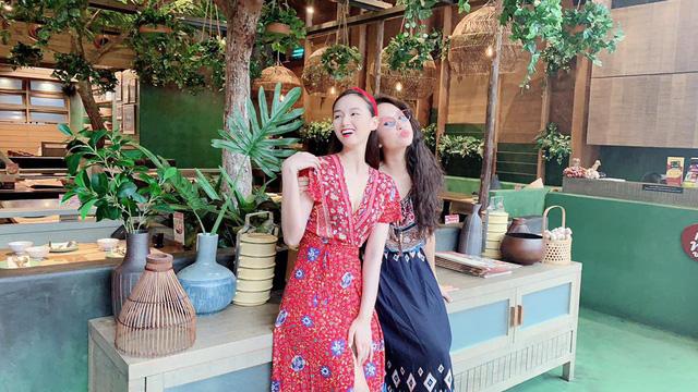 Lã Thanh Huyền vi vu Bangkok cùng cạ cứng MC Thanh Vân Hugo - Ảnh 4.
