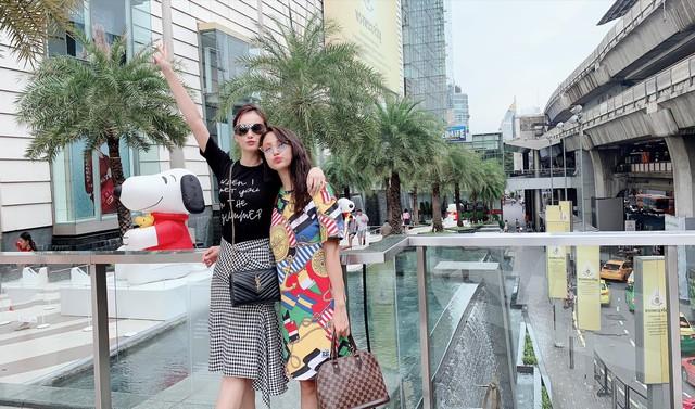 Lã Thanh Huyền vi vu Bangkok cùng cạ cứng MC Thanh Vân Hugo - Ảnh 5.