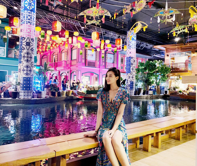 Lã Thanh Huyền vi vu Bangkok cùng cạ cứng MC Thanh Vân Hugo - Ảnh 7.