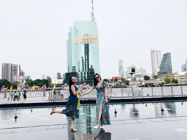 Lã Thanh Huyền vi vu Bangkok cùng cạ cứng MC Thanh Vân Hugo - Ảnh 12.