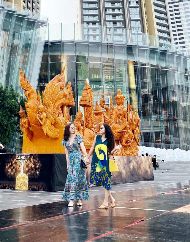 Lã Thanh Huyền vi vu Bangkok cùng cạ cứng MC Thanh Vân Hugo - Ảnh 13.