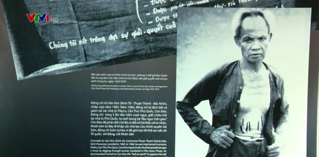 Khai mạc triển lãm Chiến sĩ cách mạng bị địch bắt tù đày - Ảnh 1.