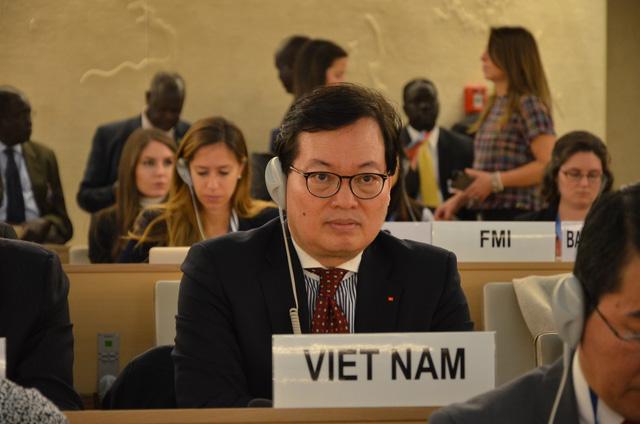 Hội đồng nhân quyền thông qua Nghị quyết về Biến đổi khí hậu và quyền con người - Ảnh 1.