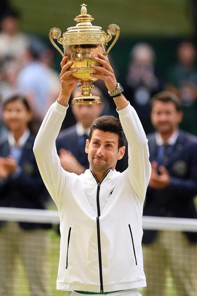 Djokovic và những bước thăng tiến ấn tượng trong cuộc đua Grand Slam - Ảnh 1.