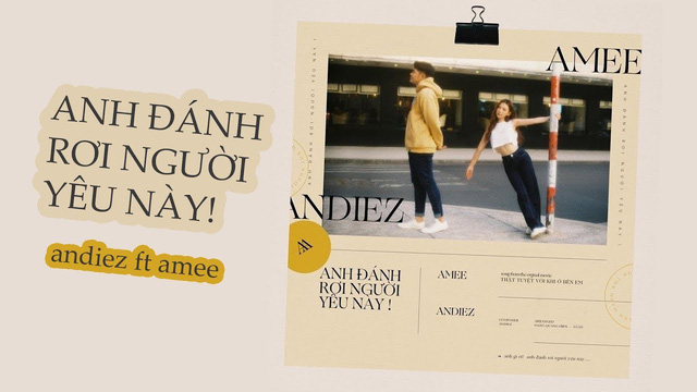 """Kết hợp cùng Andiez, AMEE tung tuyệt chiêu """"thả thính"""" trong ca khúc mới - ảnh 1"""