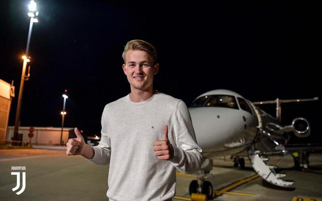 Matthijs de Ligt tới Italia kiểm tra y tế, chuẩn bị gia nhập Juventus - Ảnh 1.