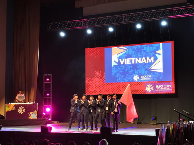Việt Nam giành 2 HCV, 4 HCB tại Kỳ thi Olympic Toán quốc tế 2019 - Ảnh 2.