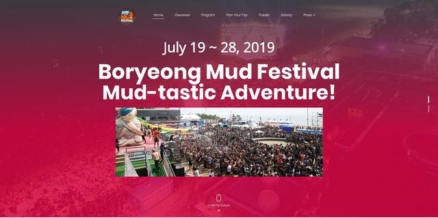 Lễ hội tắm bùn lớn nhất thế giới ở Hàn Quốc - Ảnh 1.