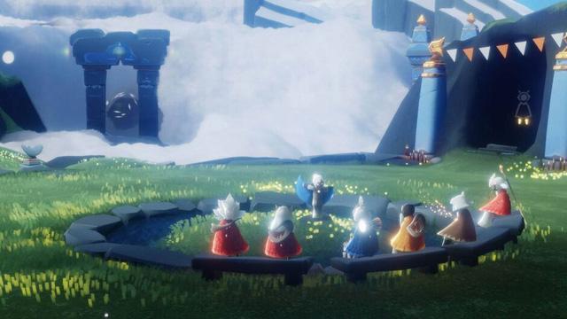 Sky: Children of the Light - Phiên bản không bạo lực của game đình đám Fornite? - Ảnh 1.