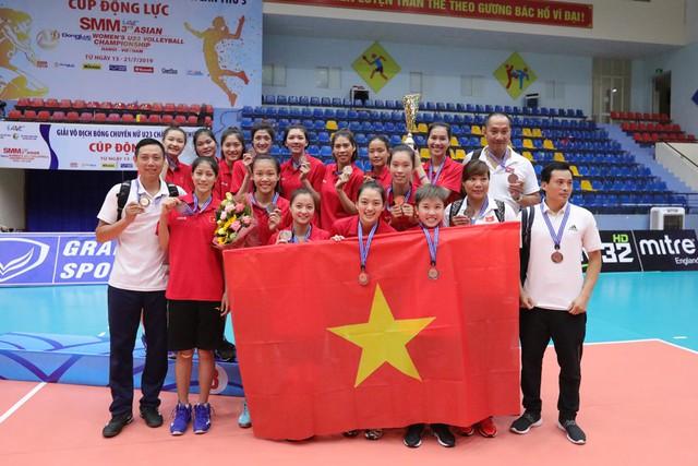 Giải bóng chuyền nữ U23 châu Á 2019: Trung Quốc vô địch lần 2, Thanh Thúy là chủ công xuất sắc nhất - Ảnh 2.