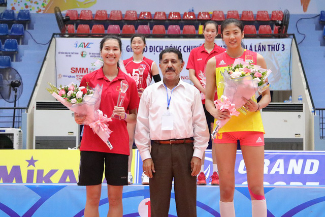 Giải bóng chuyền nữ U23 châu Á 2019: Trung Quốc vô địch lần 2, Thanh Thúy là chủ công xuất sắc nhất - Ảnh 3.