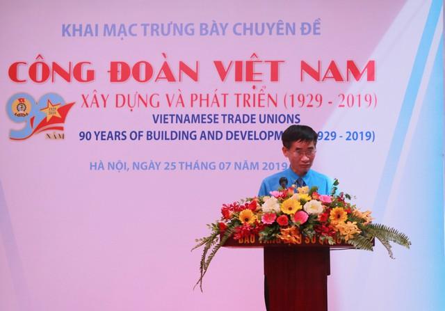 """Khai mạc triển lãm """"Công đoàn Việt Nam – 90 năm xây dựng và phát triển"""" - Ảnh 2."""