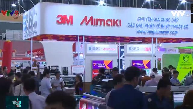 400 gian hàng tham gia Triển lãm Quốc tế Thiết bị và Công nghệ quảng cáo Việt Nam - Ảnh 1.