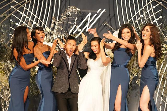 HHen Niê làm phù dâu, tặng quà cưới đặc biệt cho Hoa hậu Hoàn vũ Thái Lan - Ảnh 2.