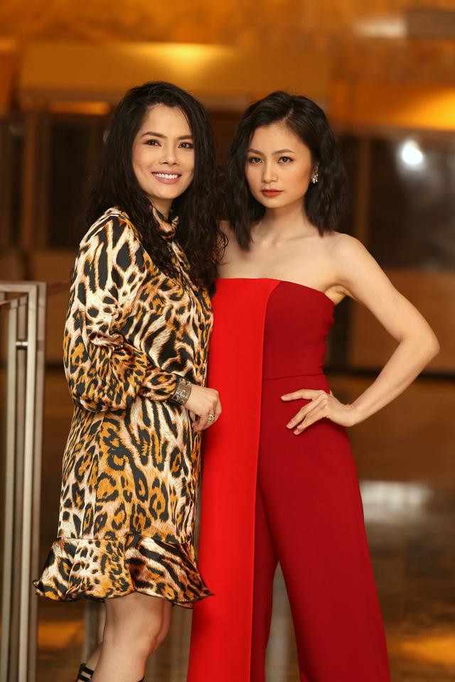 Hồng Diễm đẹp yêu kiều sánh vai cùng con gái Lương Thanh quyến rũ - Ảnh 12.