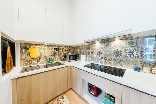Không gian sống xanh và tối giản đáng mơ ước của một gia đình trẻ ở Hà Nội - Ảnh 4.
