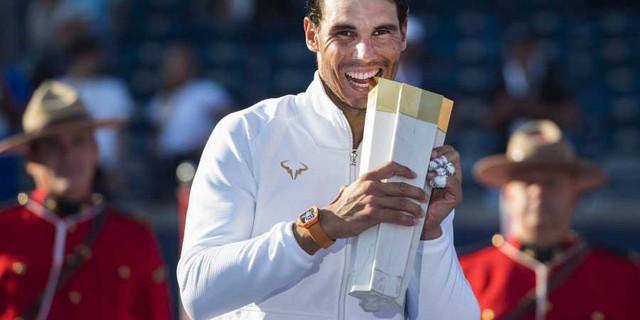 Djokovic và Federer rút lui, Nadal rộng cửa bảo vệ ngôi vương ở Rogers Cup - Ảnh 2.