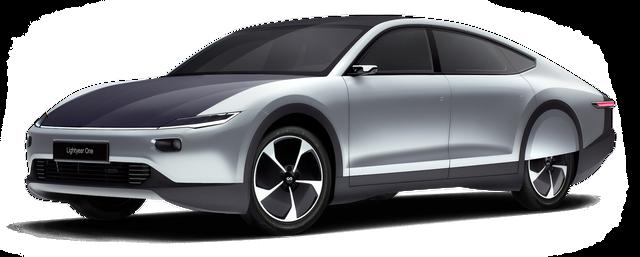 Ô tô điện chạy bằng năng lượng mặt trời đầu tiên trên thế giới - Ảnh 1.
