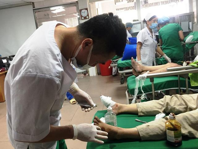 Nghệ An: Khẩn trương cấp cứu các nạn nhân hỏa hoạn tại thành phố Vinh - Ảnh 3.