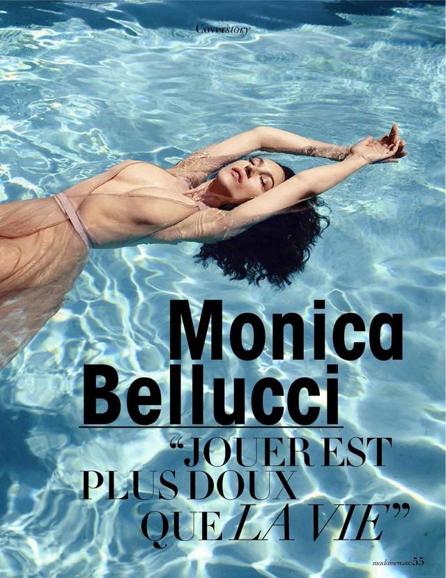 54 tuổi, Monica Bellucci vẫn khiến cánh mày râu điêu đứng - Ảnh 4.